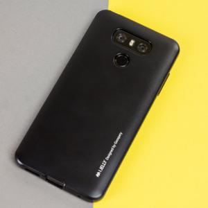 Een premium gel case voor je LG G6. De Mercury Goospery iJelly beschikt over een prachtige metallic glans UV afwerking en robuuste hoge kwaliteit TPU gel materiaal dat alle stoten op zal vangen en er tegelijkertijd fantastisch uitziet.