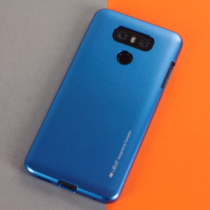 A premium gel case for your LG G6. The Mercury Goospery iJelly features a superb metallic blue UV finish and robust high quality TPU gel material that will take all the knocks and look fabulous while doing so.