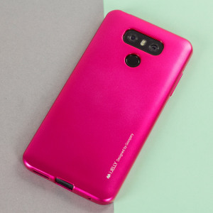 A premium gel case for your LG G6. The Mercury Goospery iJelly features a superb metallic pink UV finish and robust high quality TPU gel material that will take all the knocks and look fabulous while doing so.