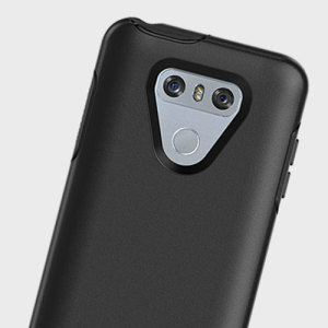 The dual-material construction makes the Symmetry black case for the LG G6 one of the slimmest yet most protective case in its class. The Symmetry series has the style you want with the protection your phone needs.