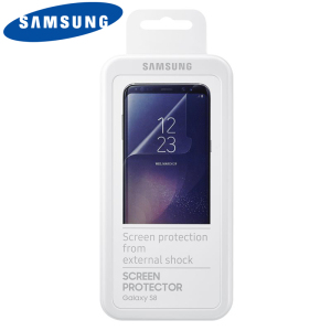 Protection d'écran Officielle Samsung Galaxy S8 - Pack de 2