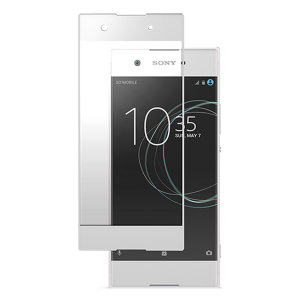 "This ultra-thin premium Japanese Asahi tempered glass screen protector in white from Roxfit for the Sony Xperia XA1 offers toughness, high visibility and sensitivity all in one package. Part of the ""Made for Xperia"" program."