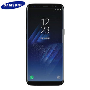 Unlocked 64GB Samsung Galaxy S8 in black. With a 5.8 inch display featuring a 1440 x 2960 resolution, 12MP camera and running Android - this Samsung smartphone is ready for anything you can throw at it!