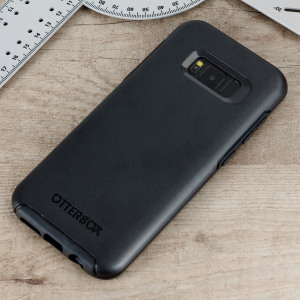 The dual-material construction makes the Symmetry black case for the Samsung Galaxy S8 one of the slimmest yet most protective case in its class. The Symmetry series has the style you want with the protection your phone needs.
