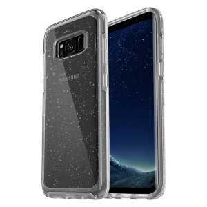 The dual-material construction makes the Symmetry stardust clear case for the Samsung Galaxy S8 one of the slimmest yet most protective case in its class. The Symmetry series has the style you want with the protection your phone needs.