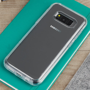The dual-material construction makes the Symmetry clear case for the Samsung Galaxy S8 Plus one of the slimmest yet most protective case in its class. The Symmetry series has the style you want with the protection your phone needs.