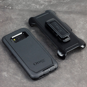 Protect your Samsung Galaxy S8 Plus with the toughest and most protective case on the market - the OtterBox Defender Screenless Edition Series in black.
