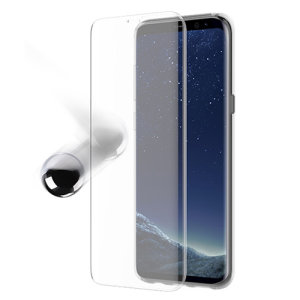 Houdt het scherm van je Samsung Galaxy S8 Plus in onberispelijke staat met de ultra dunne OtterBox Alpha Glass Screen Protector met anti-shatter protection en Reactive Touch technologie.