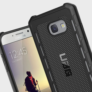 The Urban Armour Gear Outback for the Samsung Galaxy A5 2017 features a protective TPU case in black with cleverly conceived anti-skid pads and a  lightweight but rugged frame - all in one sleek protective package.