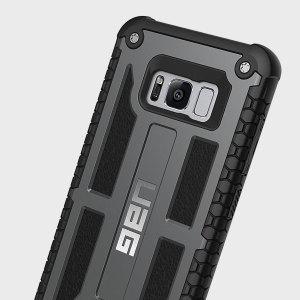 La Armour Urban Gear Monarch en grafito para el Samsung Galaxy S8 es muy posiblemente la reina de las fundas de protección. Con 5 capas de protección con los materiales más finos, el Samsung Galaxy S8 estará seguro, protegido manteniendo su estilo también.