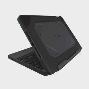 The Zagg rugged book for the iPad Pro 9.7 is the toughest and most versatile wireless Bluetooth UK keyboard available today. Made from a tough polycarbonate and combined with a soft silicone to deliver unrivalled protection and functionality.