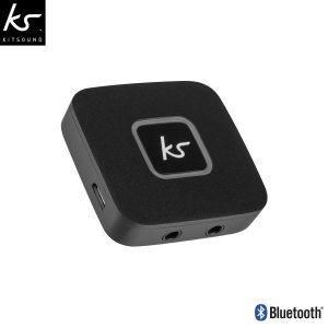 Share your music with a friend or make your wired headphones wireless with this super-convenient, ultra-compact Bluetooth splitter from KitSound.