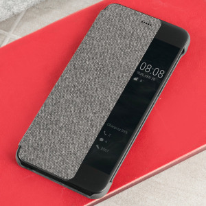 Protect your Huawei P10's screen and keep to date with the time and notifications thanks to the intuitively designed smart view window in the light grey Huawei flip case. Crafted from the finest materials, the case provides a sophisticated feel.