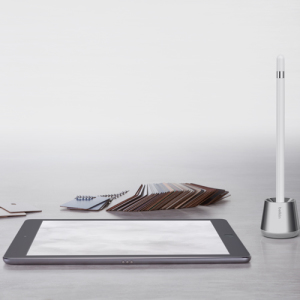 This modern and sleek looking Belkin Base Stand is a perfect storage option for Apple Pencil. Due to Pencil's size, it can often get lost inbetween uses, yet, Belkin's Base Stand eliminates that issue by ensuring that your pencil is secured in one place.