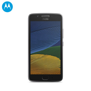 Unlocked 16GB Motorola Moto G5 in lunar grey. With a 5 inch display featuring a 1080 x 1920 resolution, 13MP camera and running Android - this Motorola smartphone is ready for anything you can throw at it!