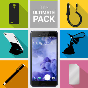 The Ultimate Pack for the HTC U Ultra consists of fantastic must have accessories designed specifically for the HTC U Ultra.