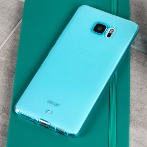 Olixar FlexiShield HTC U Ultra Gel Case - Blue