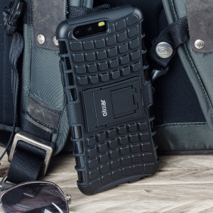 Protect your Huawei P10 Plus from bumps and scrapes with this black ArmourDillo case. Comprised of an inner TPU case and an outer impact-resistant exoskeleton, the ArmourDillo provides robust protection and supreme styling.