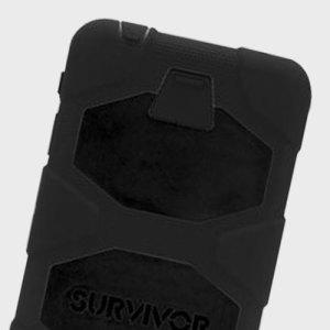 Tempêtes de poussière, pluies diluviennes, chutes de 1.80 mètre…Protégez complètement votre Samsung Galaxy Tab A 10.1 de ce genre de dégâts avec la coque Tout Terrain de chez Griffin, qui est parée à toute éventualité !