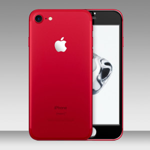 The all new red iPhone 7 is beautiful but only comes with a white fascia. Make it cool and unique and turn the white fascia black while protecting the screen at the same time with this Olixar full cover tempered glass screen protector.