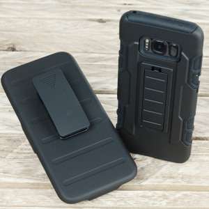Olixar Clipper Belt Clip Samsung Galaxy S8 Case - Black