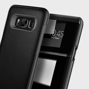 Dies ist die neu entwickelte robuste Hülle für das Samsung Galaxy S8 Plus. Die Hülle ist aus einem flexiblen, robusten TPU und Polycarbonate angefertigt welches Ihr Handy gleichzeitig modern und schlank hält.