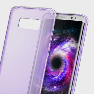 Offering lightweight, flexible protection for your Samsung Galaxy S8, this slim and protective light purple case will shield your phone from knocks, drops and scrapes while adding virtually no bulk.