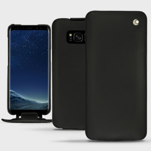 Keep your Samsung Galaxy S8 perfectly well protected from damage with this high quality, beautifully hand-crafted genuine premium leather flip case from Noreve. Lightweight, robust and fashionable.