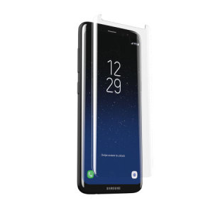 Infused with sapphire crystals for outstanding scratch resistance, this screen protector from Zagg combines superior defence with optimal clarity and a proprietary glass construction for the ultimate in screen protection for your Galaxy S8 Plus.
