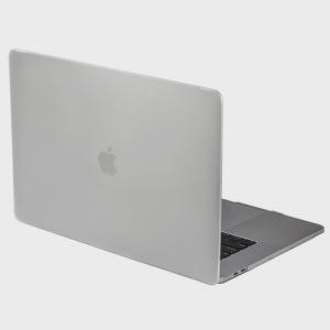 The Nude case in white for MacBook Pro 13 inch with Touch Bar provides tough, lightweight protection and great functionality.