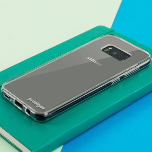 This stylish case for Samsung Galaxy S8 by Prodigee sports a minimalist transparent construction - perfect for letting the sleek lines and masterful design of your device speak for themselves, while still offering full back and side protection.