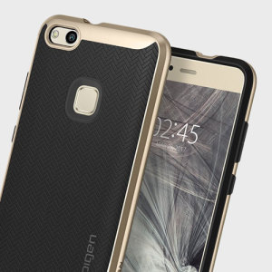 The Spigen Neo Hybrid in champagne gold is the new leader in lightweight protective cases. Spigen's new Air Cushion Technology reduces the thickness of the case while providing optimal corner protection for your Huawei P10 Lite.
