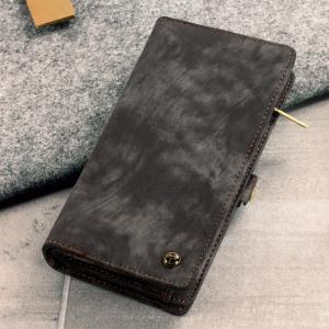 Diese luxuriöse Brieftaschen Hülle für das Samsung Galaxy S8 Plus in hellbraun kombiniert außergewöhnliche Verwendbarkeit mit einer professionellen Ästhetik, um eine Hülle, die perfekt für den täglichen Gebrauch ist zu schaffen. Komplett mit abnehmbarem Innenrahmen für das leichtere Reisen, sowie einen Reißverschlussbeutel.
