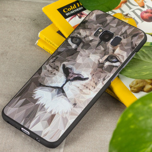 Embolden your Samsung Galaxy S8 Plus while also adding protection from knocks and drops with this striking lion motif gel case. This bold, beautiful cover augments the already excellent design of the Galaxy S8 and makes your device something to behold.