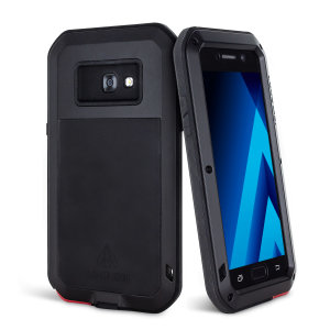 Love Mei Powerful Samsung Galaxy A5 2017 Hülle Protective Case in Schwarz