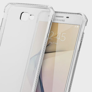 Experience superior protection for your Samsung Galaxy J7 Prime with the 100% clear Spectrum case from ITSKINS. Drop test certified over 6ft, this case will show off the unique design of your device and provide shock and drop resistance.