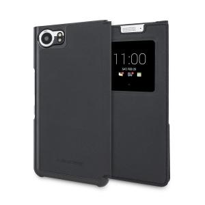Cette housse officielle Blackberry est en cuir véritable afin d'offrir de l'élégance à votre téléphone. Elle est également une excellente protection pour votre Blackberry KEYone qui sera à l'abri des dommages.