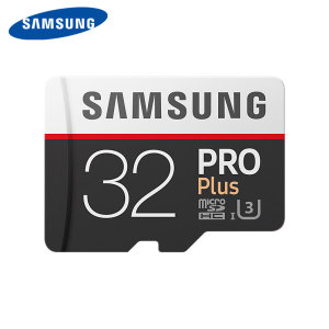 Samsung 32GB MicroSDHC PRO Plus Memory Card w/ SD Adapter - Class 10