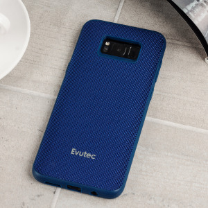 Protect your stunning Galaxy S8 Plus with the AERGO Ballistic Nylon case in black from Evutec. Featuring Evutec's all-new proprietary material Evusoft, which offers second-to-none shock absorption without compromising on the case's understated design.