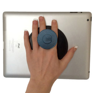 Meet the award-winning G-Hold. A reusable tablet and smart device holder that you enables you to hold your tablet with one hand easily for long periods. Perfect for reading, browsing, work use, travel and much more besides. Folds flat when not in use.