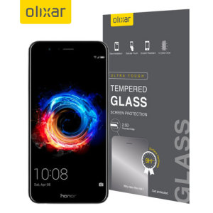 This ultra-thin tempered glass screen protector for the Huawei Honor 8 Pro offers toughness, high visibility and sensitivity all in one package.