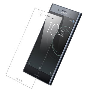 Keep your Sony Xperia XZ Premium's screen in pristine condition with this clear full coverage Olixar Tempered Glass Screen Protector, designed to cover and protect even the curved outer edges of the phone's display.