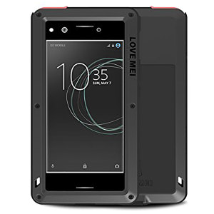 Protect your Sony Xperia XZ Premium with one of the toughest and most protective cases on the market, ideal for helping to prevent possible damage - this is the black Love Mei Powerful Protective Case.
