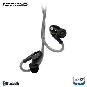 Engineered to provide Hi-resolution audio, the Adv Sound Model 3 in-ear wireless monitors in black deliver optimum audio clarity. Featuring aptX support and a unique design, the Model 3s give you the option of using them via Bluetooth or as a wired set.