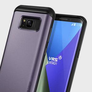 El diseño de la serie Thor de VRS cuenta con un exclusivo diseño híbrido de PC y TPU que mejora la forma de su Samsung Galaxy S8 sin sacrificar la función.