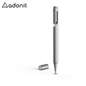 With a new ergonomic design, precision disc tip and convenient carrying clip, the Mini 3 stylus in silver from Adonit is the perfect companion for amateur and professional touch screen artists on the move.