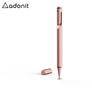 With a new ergonomic design, precision disc tip and convenient carrying clip, the Mini 3 stylus in rose gold from Adonit is the perfect companion for amateur and professional touch screen artists on the move.
