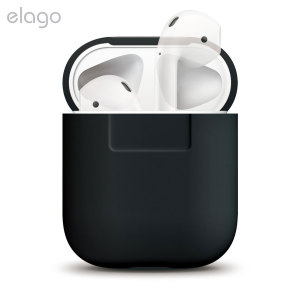 Add superior protection to your Apple AirPods case with this stylish, sleek and minimalist silicone cover from Elago. The cover allows full access to your AirPods and their charging case while giving peace of mind by protecting from scratches and scrapes.