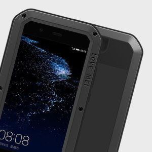 Protect your Huawei P10 Plus with one of the toughest and most protective cases on the market, ideal for helping to prevent possible damage from water and dust - this is the black Love Mei Powerful Protective Case.