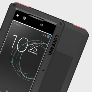 Protect your Sony Xperia XA1 Ultra with one of the toughest and most protective cases on the market, ideal for helping to prevent possible damage from water and dust - this is the black Love Mei Powerful Protective Case.